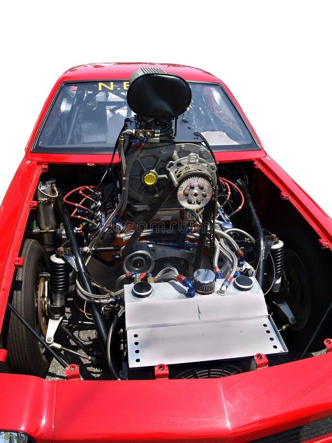 Engine de Dragster. images libres de droits