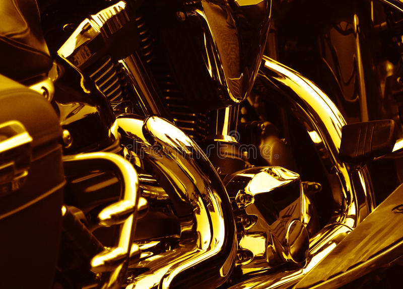 Engine de moto photo libre de droits