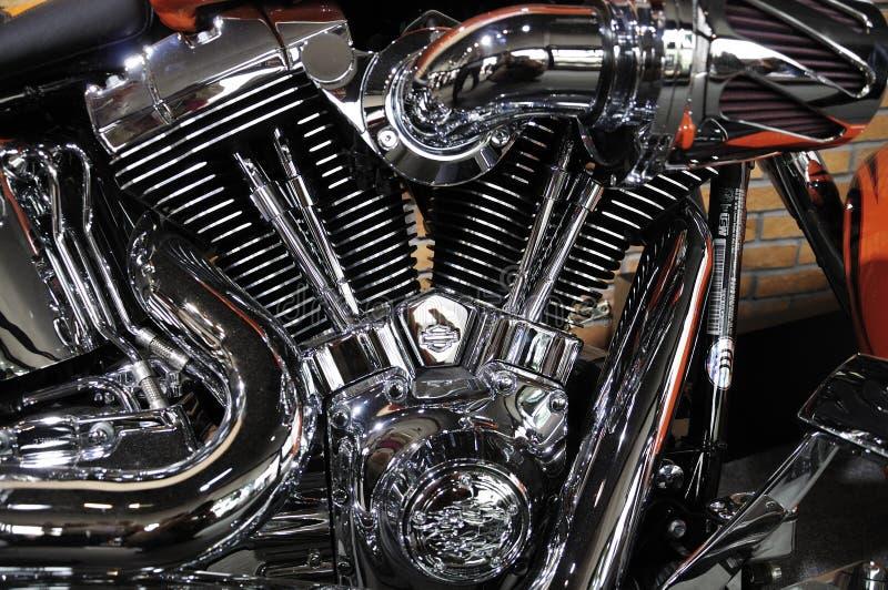 Engine de moto de Harley Davidson image stock
