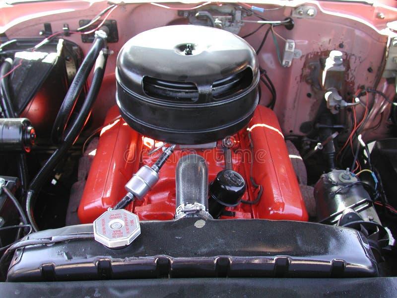 Engine de véhicule classique images libres de droits