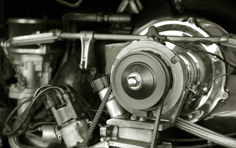 Engine du cru rv photos libres de droits