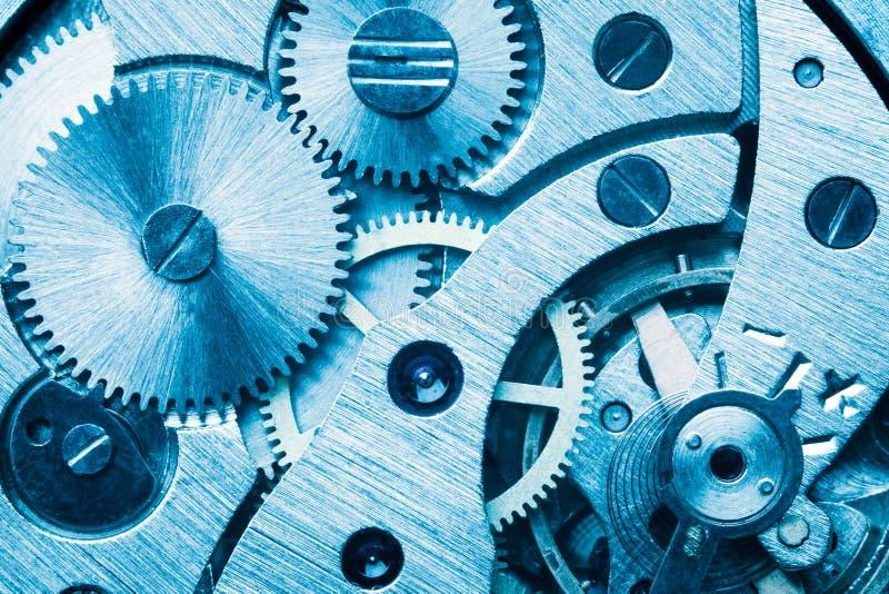 Engine gear wheels, industrial background. Studio macro shot stock photos