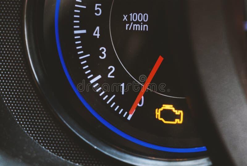 Engine light royalty free stock image