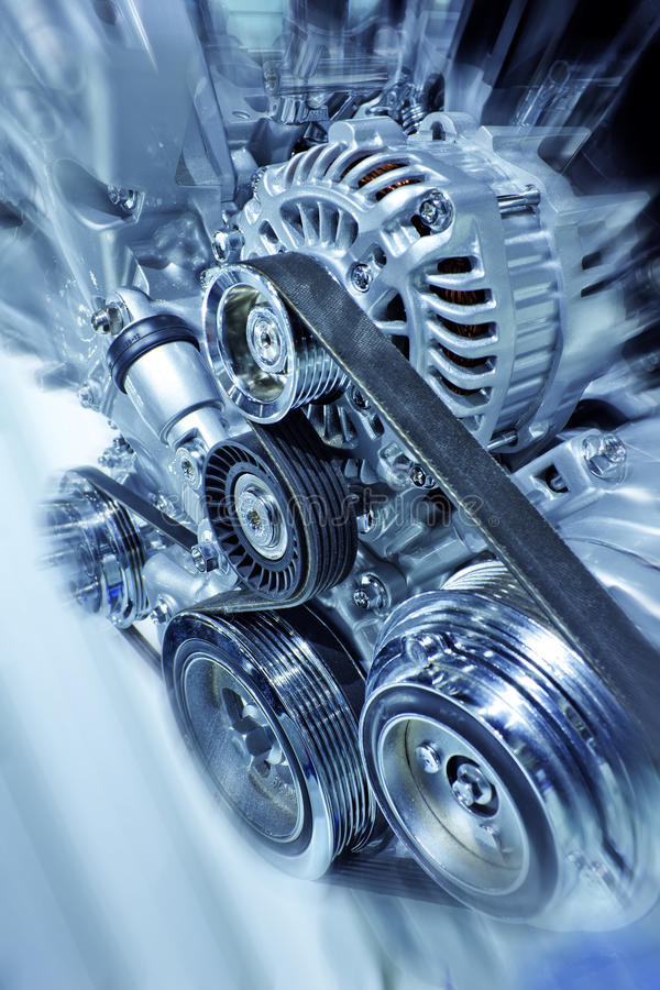 Engine. Part of car engine made in china royalty free stock images