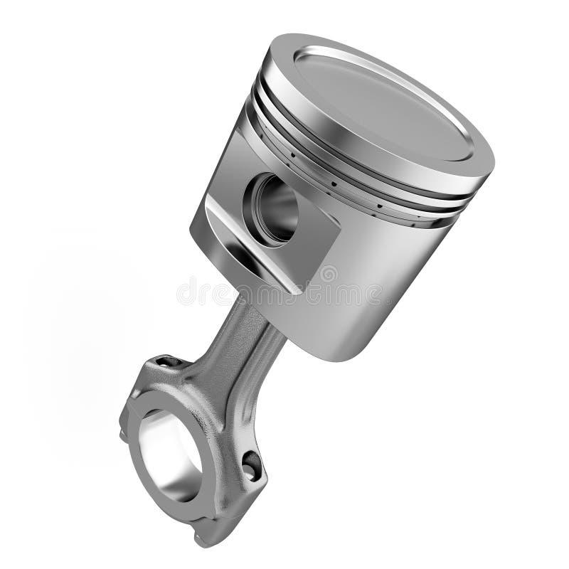 Engine piston stock illustration