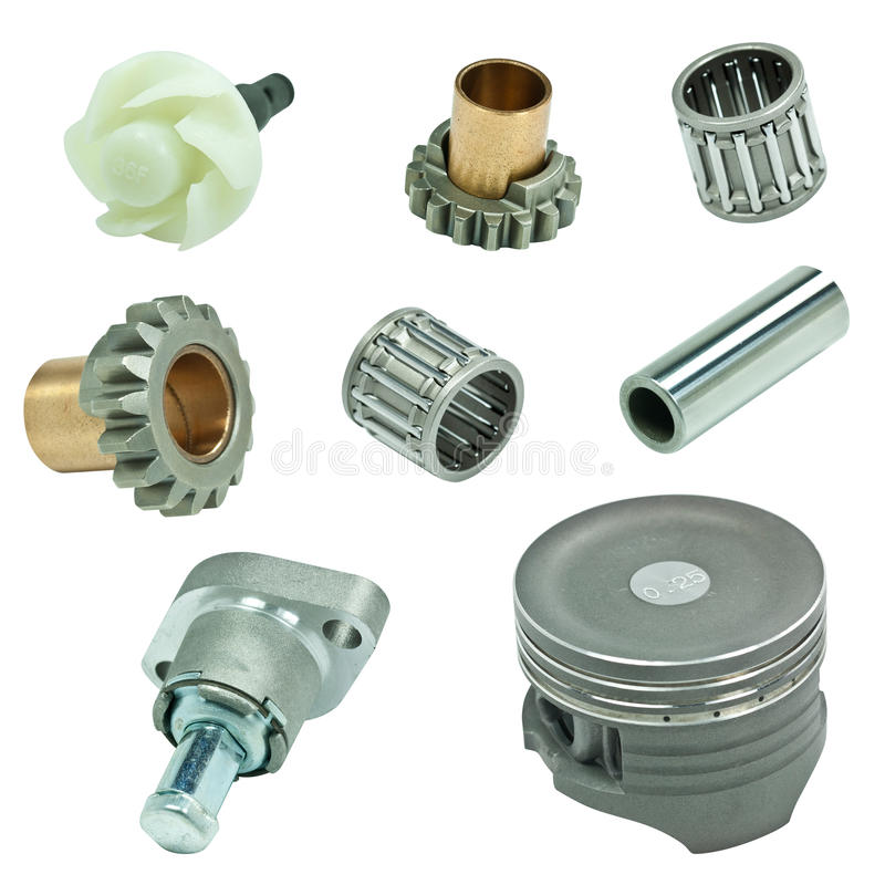 Free Engine Pistons And Cog Stock Images - 24053594