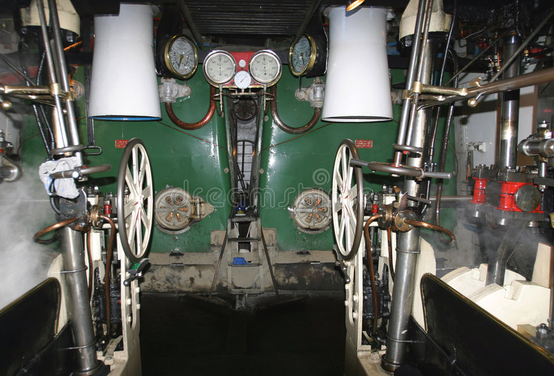 Download The Engine Room 2 stock photo. Image of valve, gage, paddle - 48696