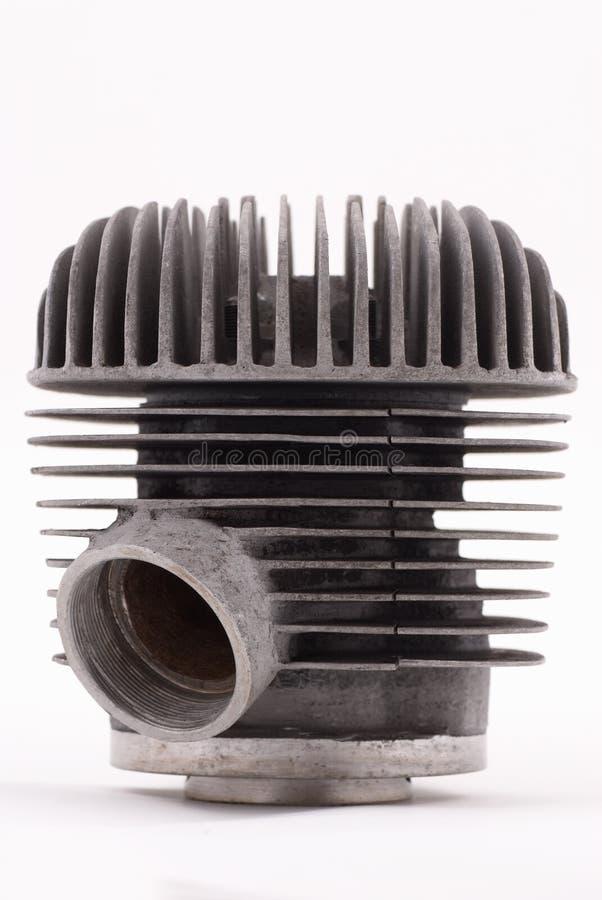 Engine simple de motocyclette photographie stock libre de droits