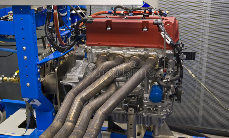 Engine testing and tuning royalty free stock photos