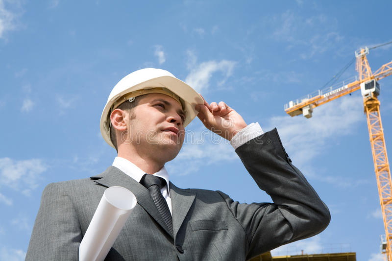 Download Engineer stock photo. Image of masculine, male, foreman - 10336824