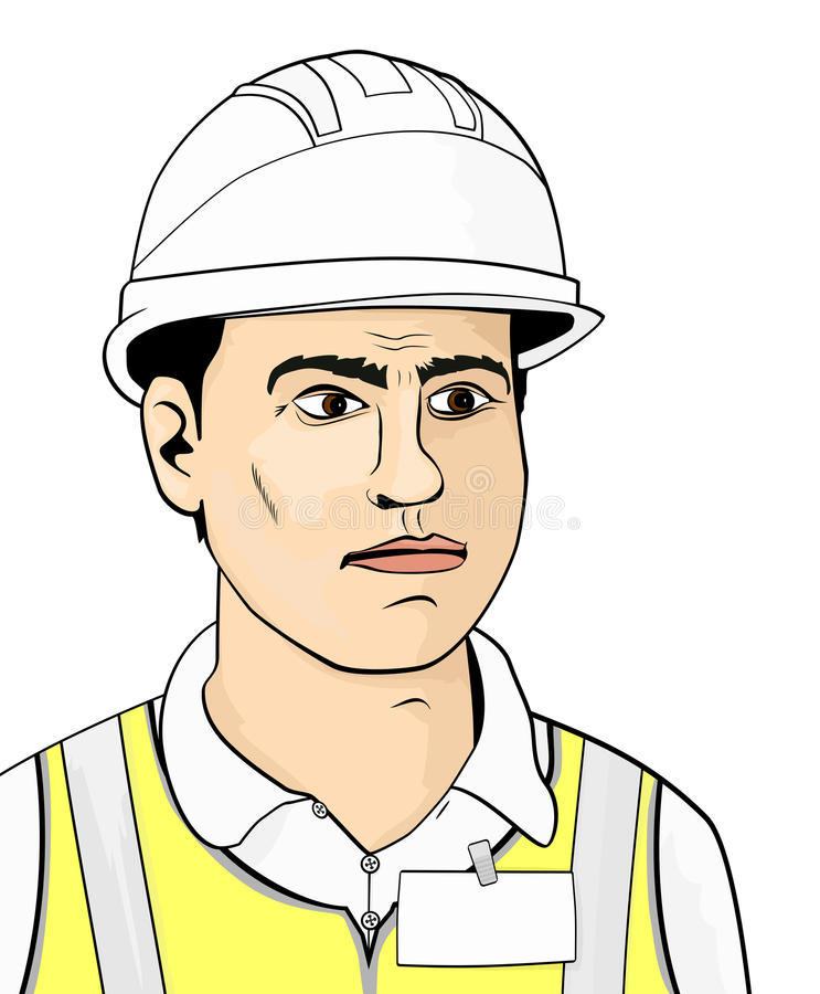 engineer illustrazione vettoriale