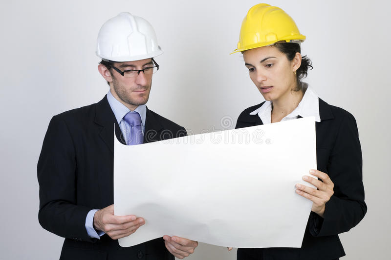 Download Engineer And Client On Site Stock Photos - Image: 9717323