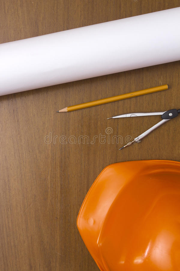 Engineer Construction Accessories royalty free stock image