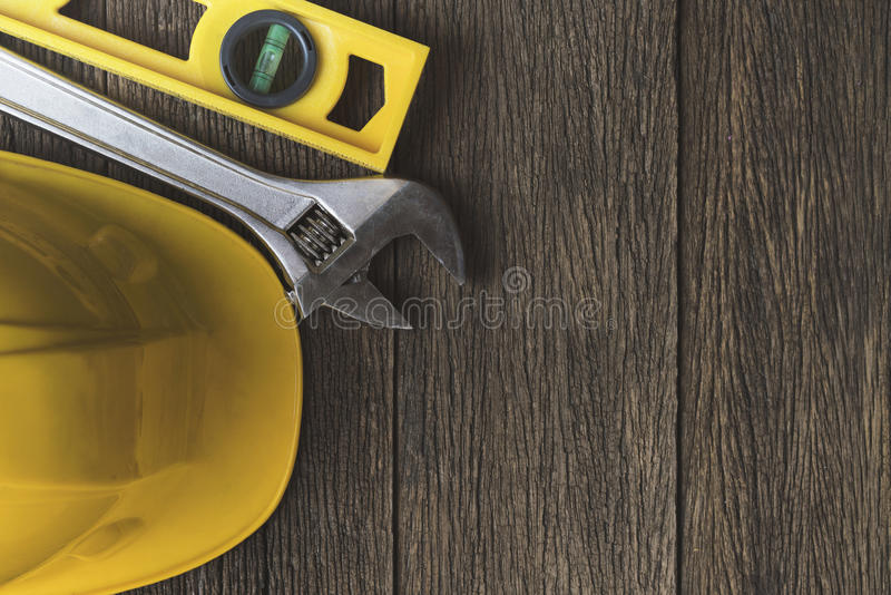 Engineer desk background royalty free stock image