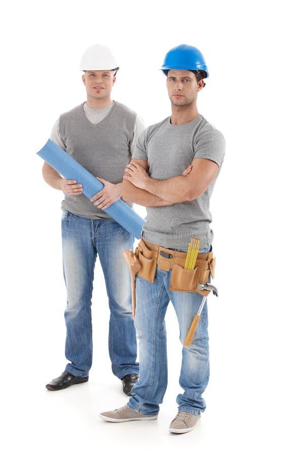 Engineer And Handyman Stock Images