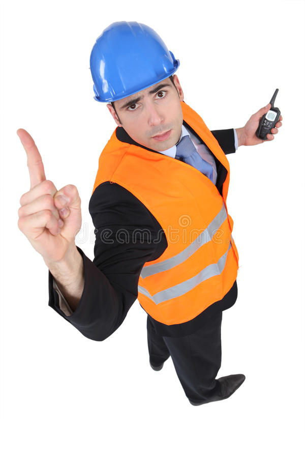Download Engineer needs more time stock image. Image of professional - 26945487