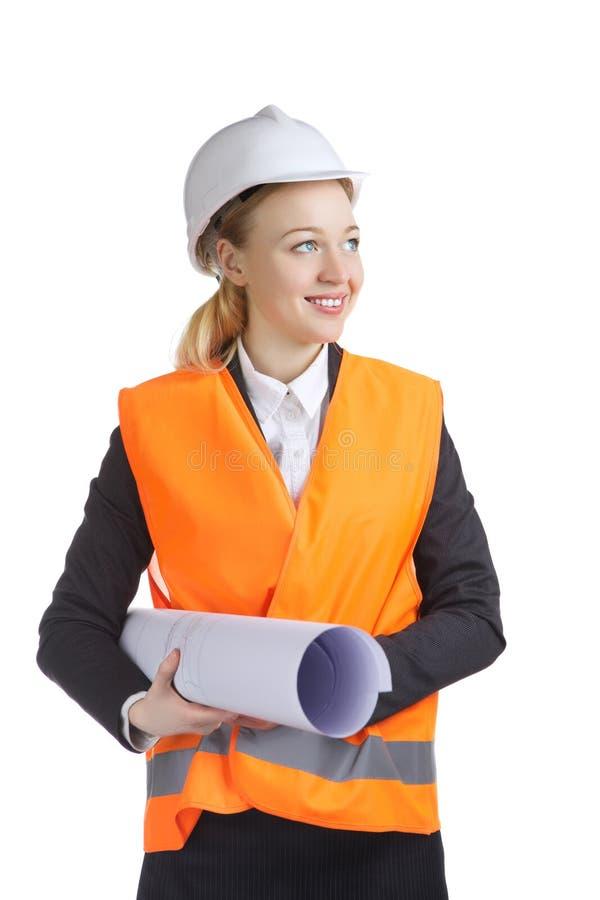 Engineer Woman royalty free stock photo