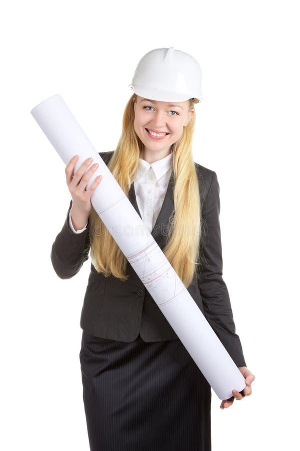 Engineer Woman stock image