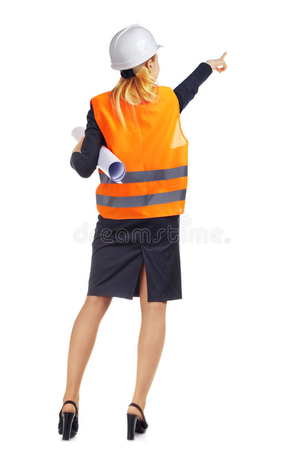 Engineer Woman stock images