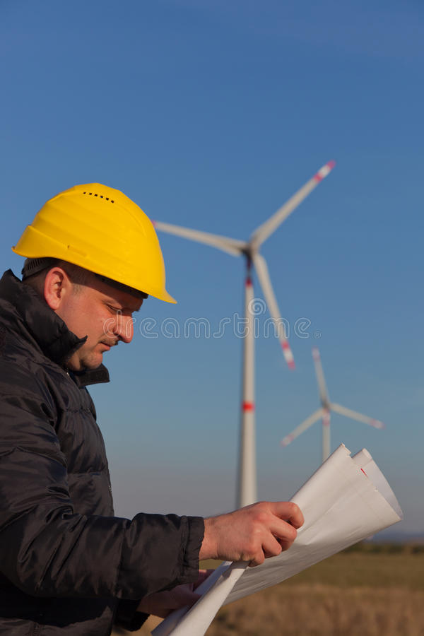 Engineer at Work royalty free stock images