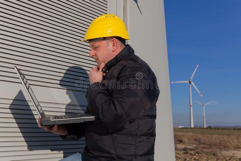 Download Engineer at Work stock image. Image of generator, looking - 18393669