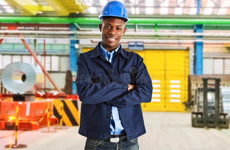 Engineer at work stock photography