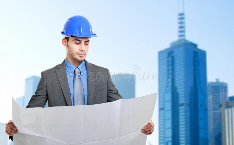 Download Engineer at work stock photo. Image of workman, power - 26828824