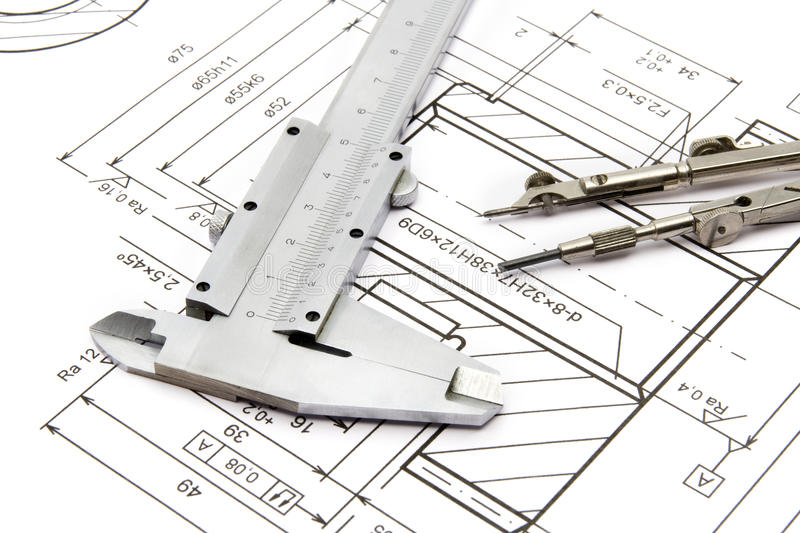 Download Engineering stock image. Image of plan, element, technical - 10301493
