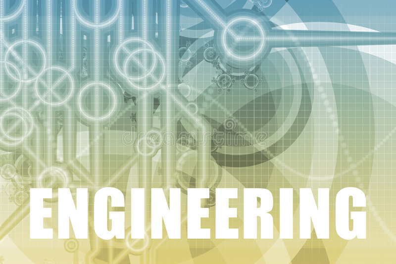 Engineering Abstract vector illustration