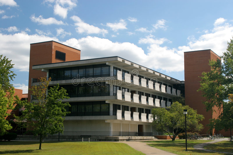 Engineering Building. At Southern Illinois University at Carbondale, Illinois (USA stock photography