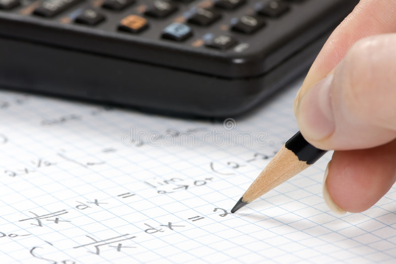 Download Engineering Calculations stock photo. Image of curve, keypad - 2216682