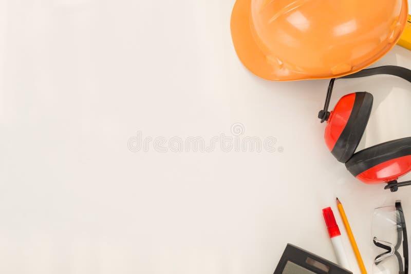 Engineering / construction background stock image
