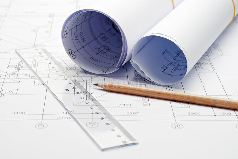 Download Engineering Design And Drawing Stock Image - Image: 25371765