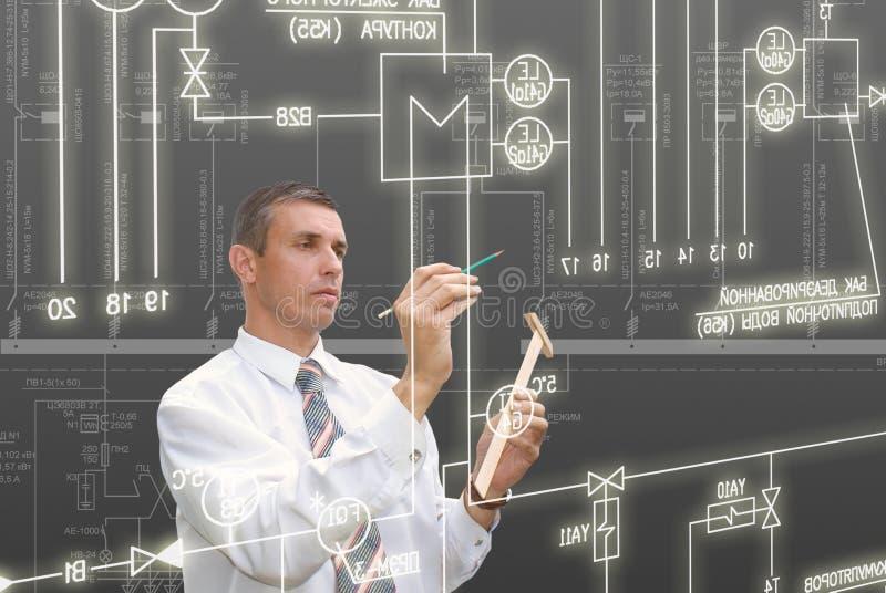 Engineering Designing Stock Photo