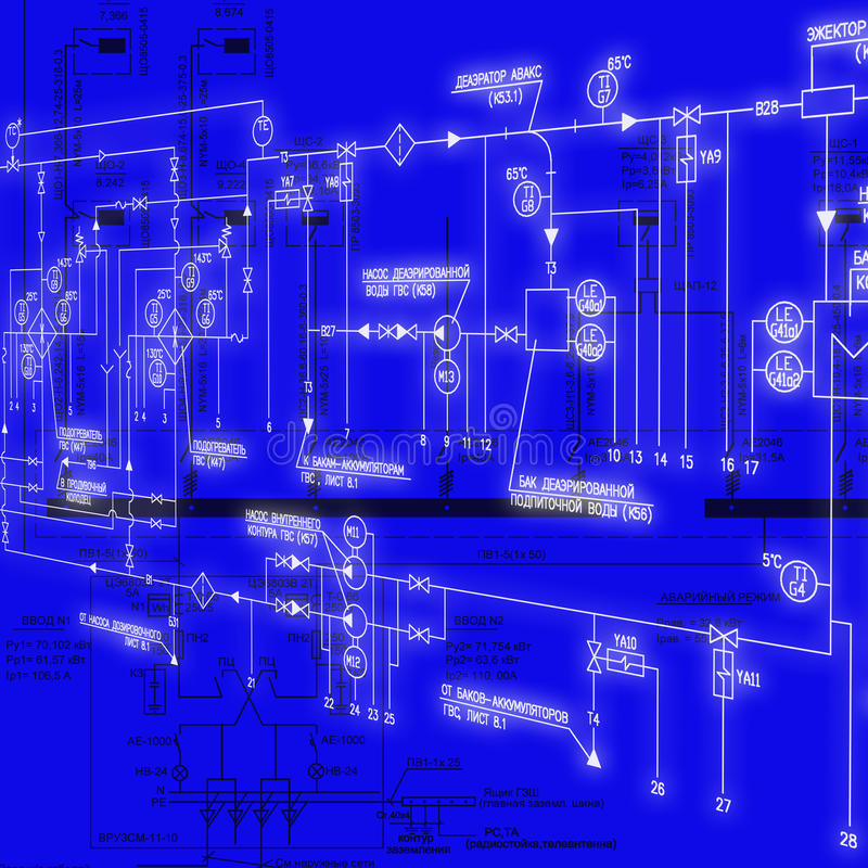 Engineering designing royalty free stock image