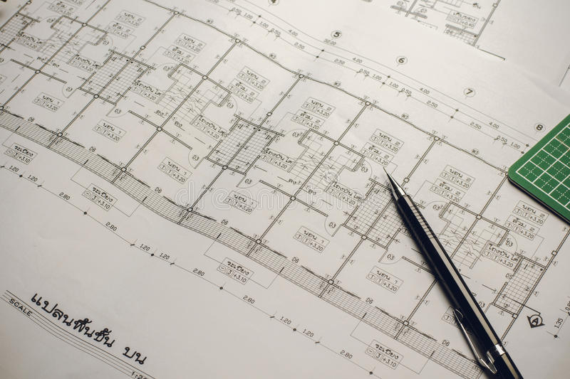 Engineering diagram blueprint paper drafting project sketch arch download engineering diagram blueprint paper drafting project sketch arch stock image image of engineer malvernweather Choice Image