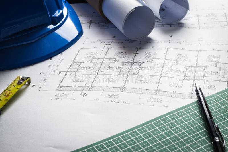 Engineering diagram blueprint paper drafting project sketch stock download engineering diagram blueprint paper drafting project sketch stock image image of drafting business malvernweather Image collections