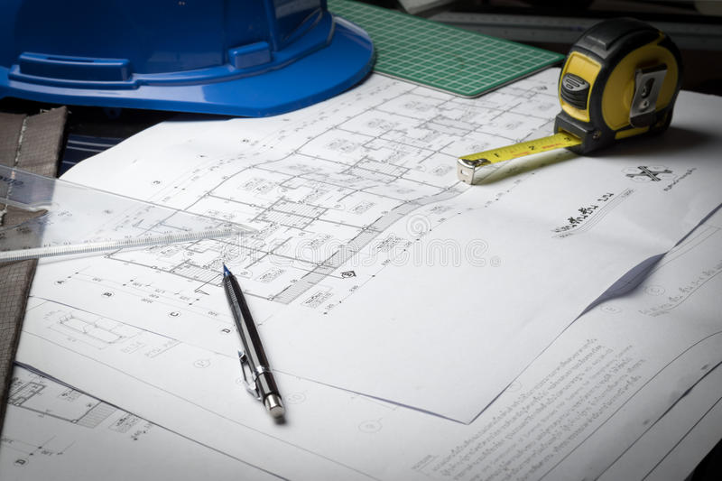 Engineering diagram blueprint paper drafting project sketch stock download engineering diagram blueprint paper drafting project sketch stock image image of engineering home malvernweather Image collections