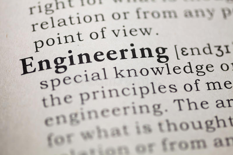 Engineering stock image