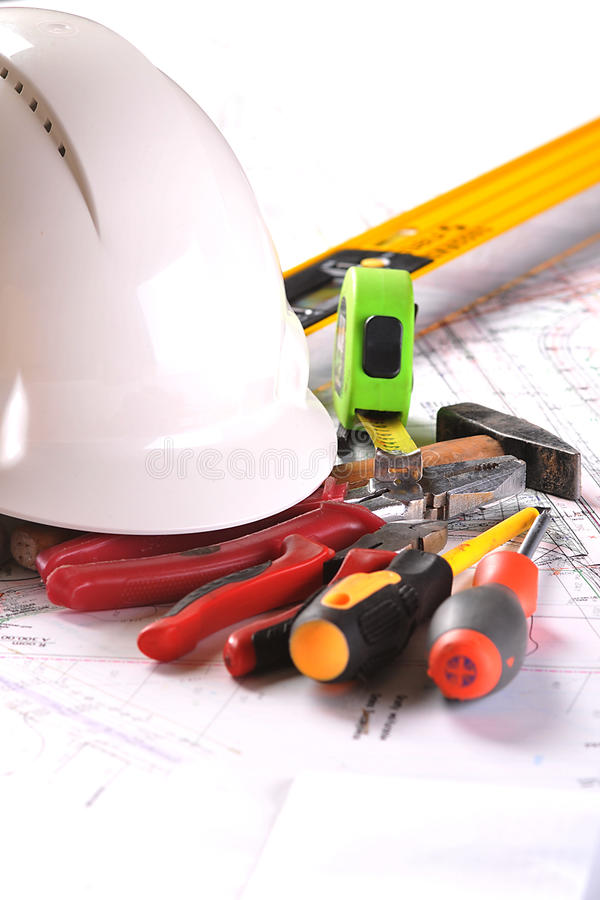 Download Engineering equipment stock photo. Image of plans, document - 27663110