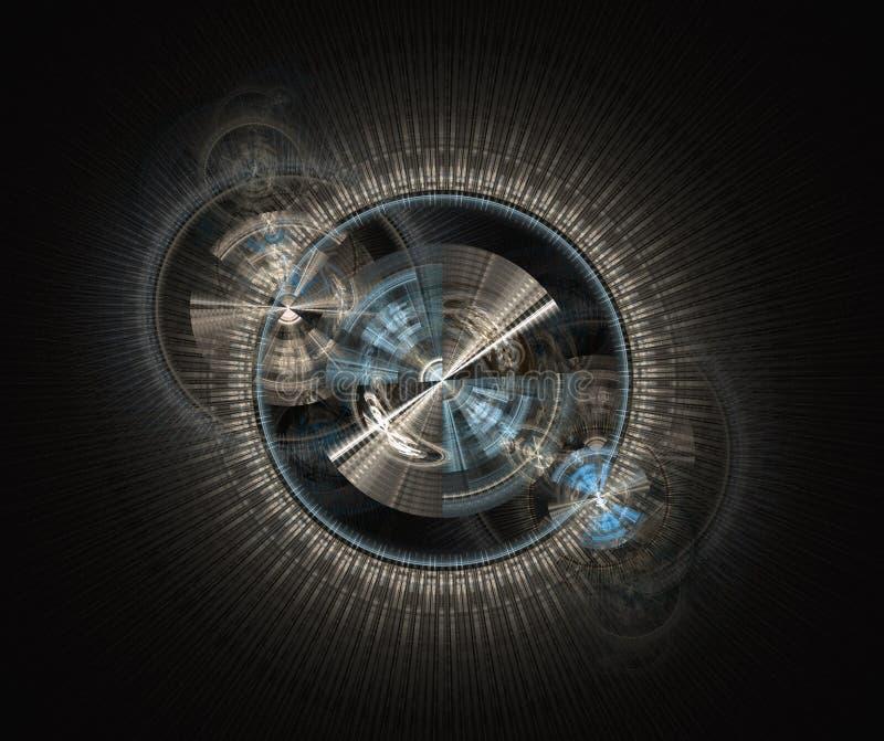 Download Engineering fractal stock illustration. Image of exploding - 22248929