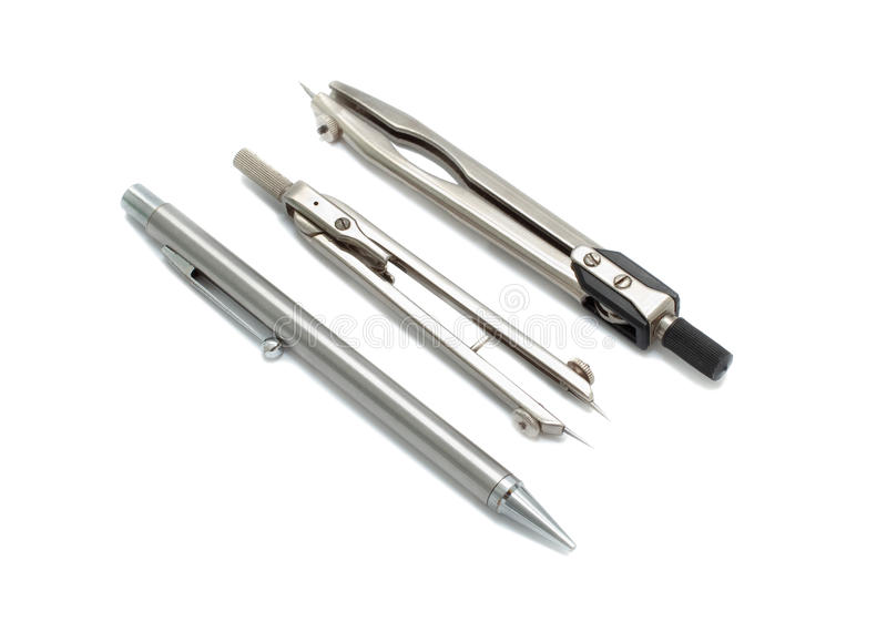 Engineering instruments stock images