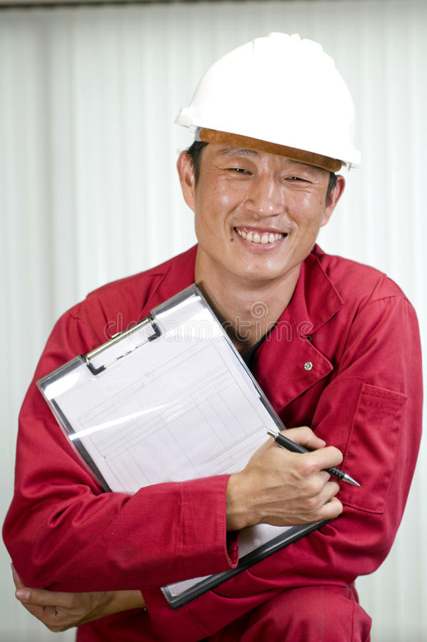 Engineering job royalty free stock images