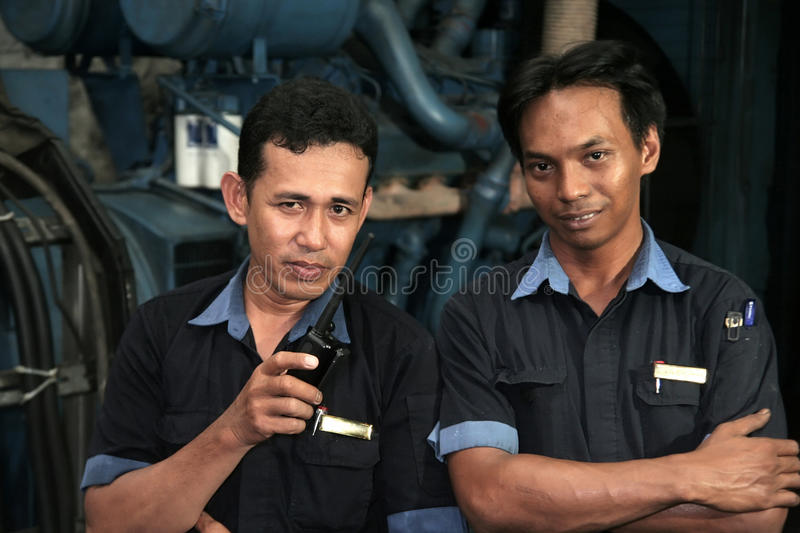 Download Engineering In Machine Room Stock Photo - Image of machinist, person: 11111654