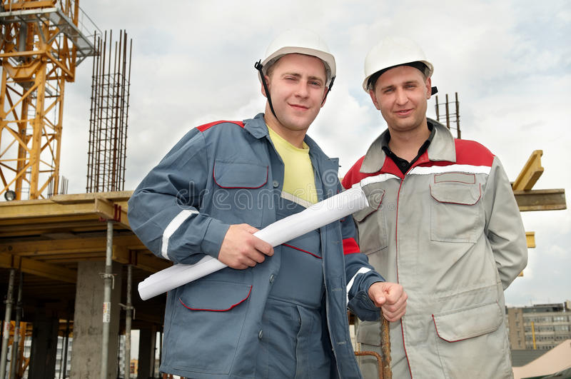 Download Engineers Builders At Construction Royalty Free Stock Photo - Image: 14567715