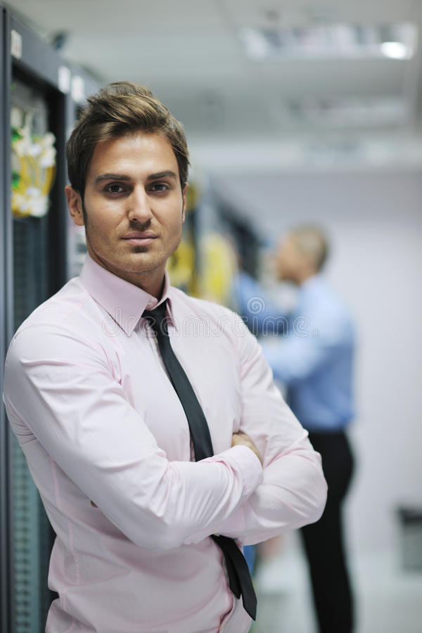 Download It Engineers In Network Server Room Stock Photo - Image: 21717228