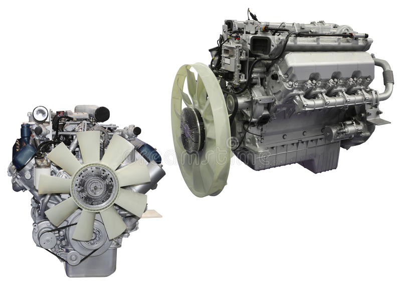 Engines. The image of engines isolated under the white background royalty free stock photos