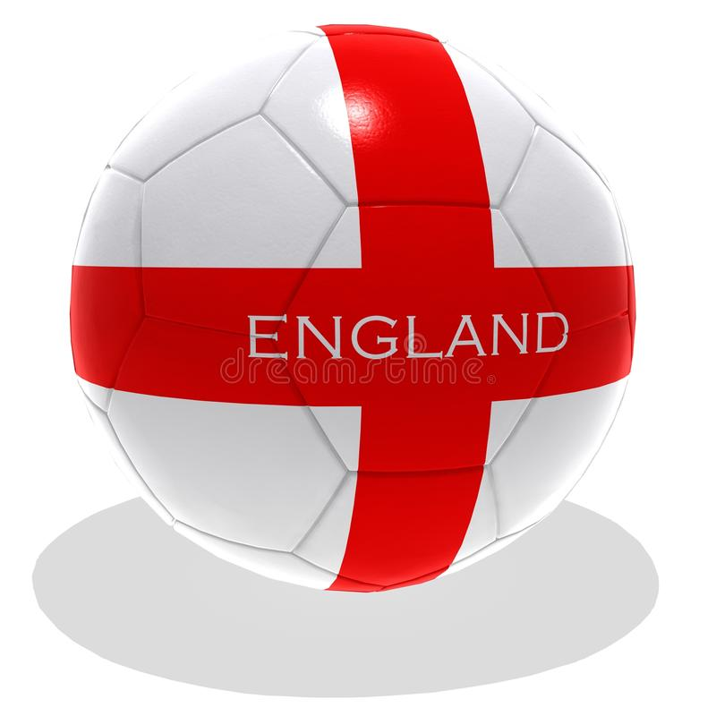 Download England Ball stock illustration. Image of flag, ball - 14858884