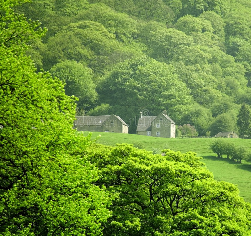 Download England Derbyshire Peak District National Park Matlock Stock Photo - Image: 1305996