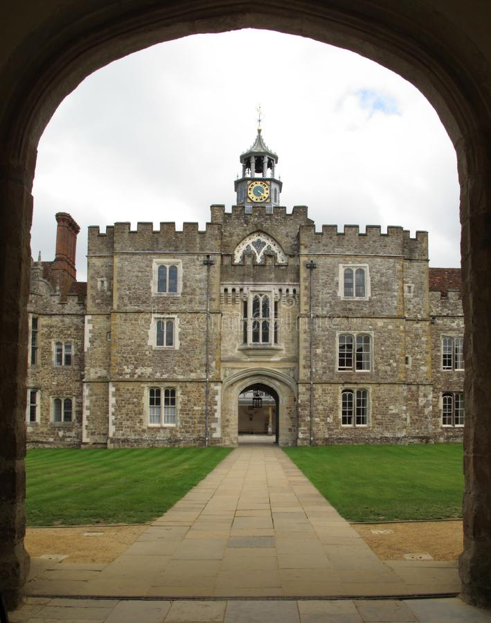 england domowi Kent knole sevenoaks obrazy royalty free